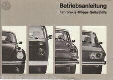 VW Bus T2 - Betriebsanleitung Teil 2 - 08/1972