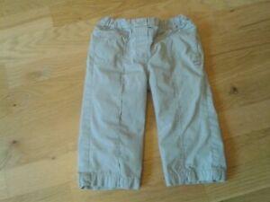 Baby Girls 12-18 months - Beige Summer Trousers - Mexx