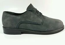 Rockport womens nubuck leather flat shoes uk 6 Eu 39 worn once