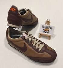 Nike Oregon Waffle Brown Leather Trainers UK 7 'RARE DEADSTOCK VINTAGE 2008'