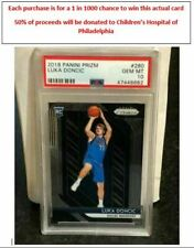 CHARITY DRAWING for a 1 in 1000 chance @ 2018 Prizm Luka Doncic PSA 10 #280 READ