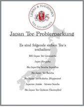 Japon Tee-Probierpackung (7 Variétés)