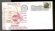 3/5/68 WALLOPS ISLAND, VA EXPLORER 37 LAUNCH ORBIT CACHET UNADDRESSED