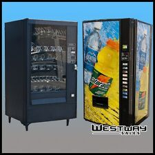 Two Vending Machine Combo - Royal Beverage Machine and Automatic Product AP113
