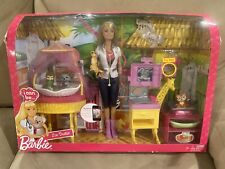 Barbie Doll ~ I Can Be Zoo Doctor Play Set Doll Animals Furniture 2010 NIB
