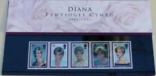 GB 1998 PRINCESS DIANA WELSH CYMRU PRESENTATION SG 2021-2025 STAMP SET RARE NOW