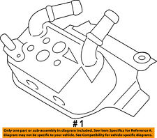 FORD OEM 15-18 F-150 5.0L-V8 Transmission Oil Cooler-Auxiliary Cooler FL3Z7A095B