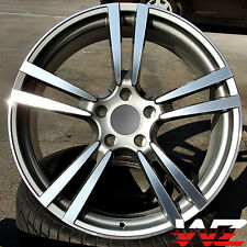 "20"" Machined Gunmetal Wheels Fits Porsche Cayenne S GTS VW Touareg Audi Q7"
