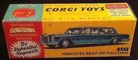 Corgi 247 Mercedes Benz 600 Pullman Empty Repro Box Only