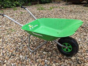 Child's Viking brand metal wheelbarrow
