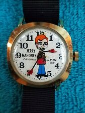 Ventriloquist Paul Winchell's Jerry Mahoney Wristwatch 1971