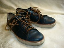 FRYE Men's Blue Leather Shoes Size 10 M