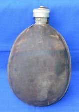 Bulgarian Army Aluminium CANTEEN Water BOTTLE Wooden Cover FLASK