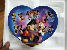 Disney Collector Plate Remember the Magic Mickey Mouse Minnie Mouse.NEW