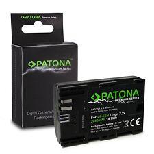 Batteria Maggiorata PATONA 2000 mAH CANON LP-E6 LPE6 EOS 5D Mark II III 5DS MKII