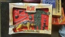 1998 GI Joe Classic Collection K-9 Patrol Set Deluxe Mission Gear Set NIDB