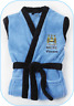 BRAND NEW MANCHESTER CITY FOOTBALL CLUB ROBE dressing gown AGE : 2/3 YEARS BNWT