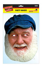 Uncle Albert Official Only Fools & Horses 2D Card Party Face Mask Fancy Dress Up