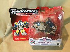 2005 Transformers Universe Robots in Disguise Decepticon Barricade Skill Level 3