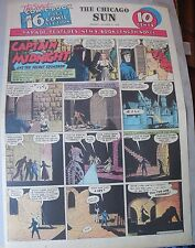Captain Midnight Sunday by Jonwon from 10/4/1942 Large Rare Full Page Size!