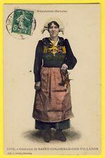 cpa Cachet St JEAN de MAURIENNE (Savoie) Costume de ST COLOMBAN des VILLARDS