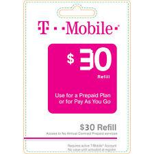T-Mobile $30 Refill