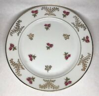 Lot2 De 6 Petites Assiettes En Porcelaine Fine De Limoges A.B France D 18 cm
