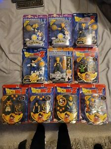 DragonBall Z LOT OF 10  Action Figures Irwin Series Brand New