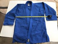 Bold Look Blue MMA Jiu Jitsu Martial Arts Gi Sz 2, Medium, BJJ, Jacket - ONLY