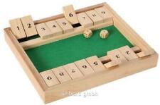 Klappenspiel für 2, aus Holz.
