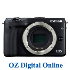 New Canon EOS M6 Body Black Mirrorless 24.2MP WiFi NFC Camera 1 Year Aust Wty