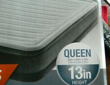 Intex Queen air mattress 13 inch height w/internal pump