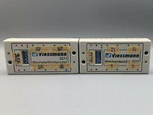 Viessmann 5211 Weichendecoder 2 Stück