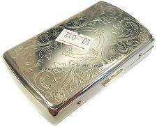 Metal Cigarette Holder Case - Tobacco Smoking Gift #10-012