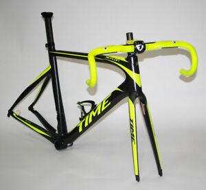 TIME Telaio Bici da Corsa Skylon Nero/Giallo