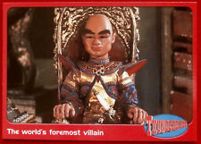 THUNDERBIRDS - The World's Foremost Villain - Card #44 - Cards Inc 2001