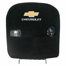 Seat Armour For 07-13 Silverado With Bucket Seat BLACK Logo Center Console Cover