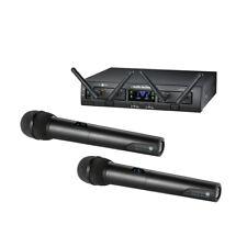 Audio Technica Atw-1322 Dual Handheld Digital Wireless Microphone System 10 Pro