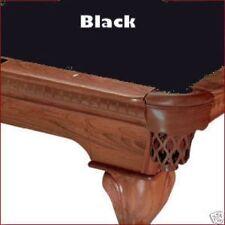 7' Black ProLine Classic Billiard Pool Table Cloth Felt - SHIPS FAST!