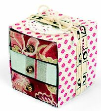 Sizzix Bigz XL Box with Drawers die #660312 Retail $39.99 SO SPECIAL!!!