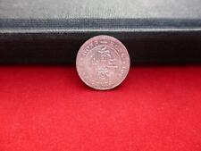China Hong Kong Five 5 Cents von 1901 Victoria Victoria 1819-1901 Silber Ag unc.