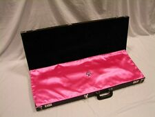 """PINK """"AxeShield HD"""" Satin Protection Shroud ATTACHES To Fender Strat / Tele Case"""
