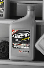 REVTECH HARLEY PURE ADVANCED MOTORCYCLE OIL CASE 12 QUARTS SAE 50