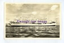 pf0326 - Swedish East Asia Cargo Ship - Burma , built 1952 - postcard
