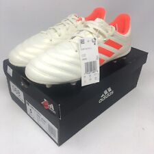 Adidas Junior Copa 19.3 FG Soccer Cleats Offwhite Orange Size 5 NEW!