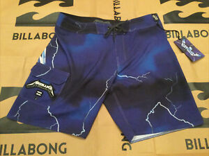 Billabong Metallica Ride The Lightning Board Shorts/Swim Size 33 - NWT