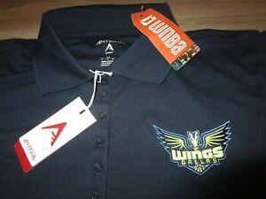 Dallas Wings WNBA Basketball Antigua Polo Shirt Womens XL NEW