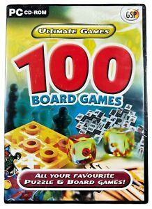Ultimate Games: 100 Board Games (PC, CD-ROM) - 2005 | New & Sealed