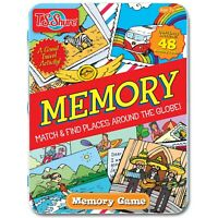 Game,  Memory, T.S. ShureTin Play Set,  Match & Find Places Around The Globe