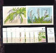 Ghana  1990  MNH  set+two s/sh.Flowers.See scan.